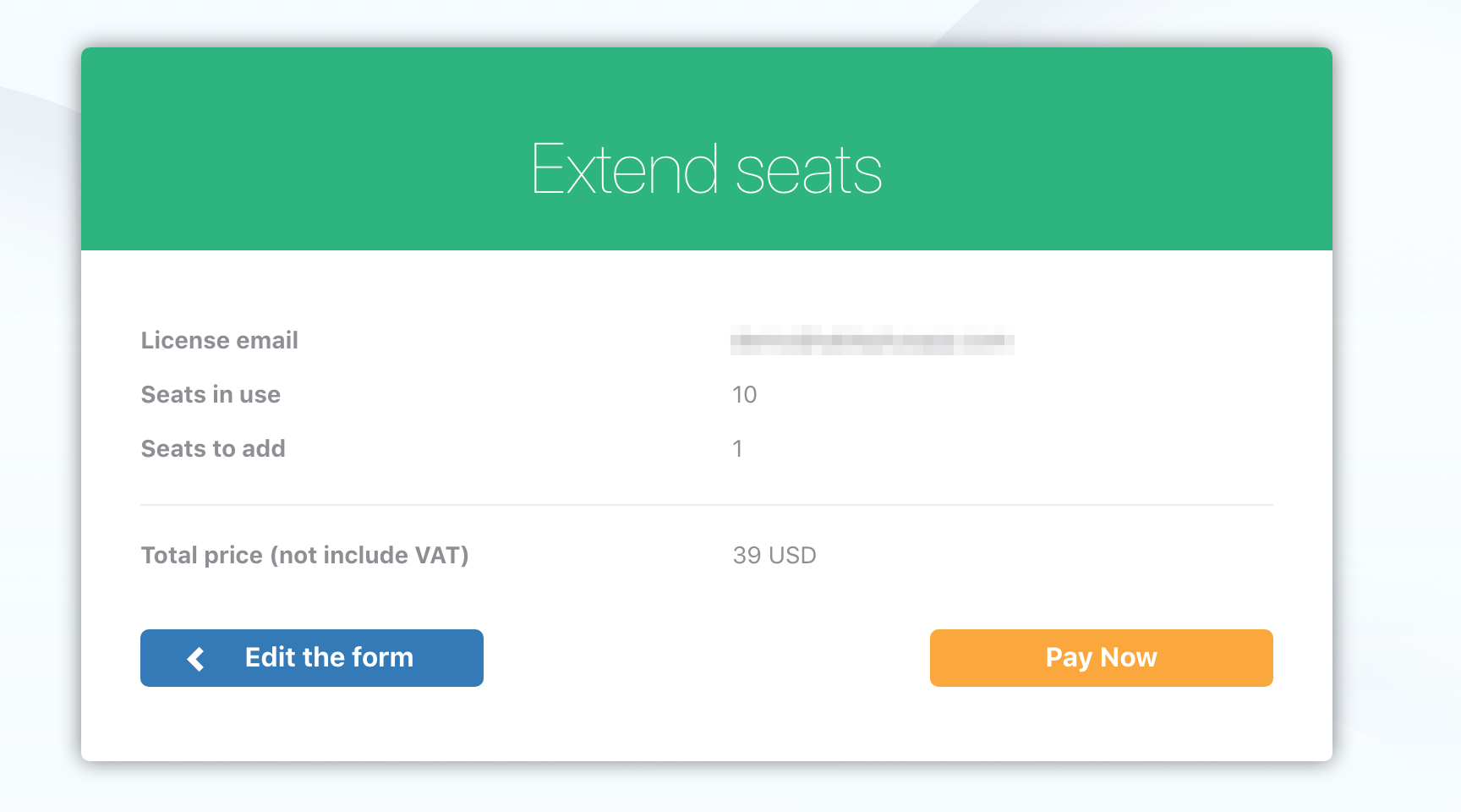 How to extend seats? | TablePlus