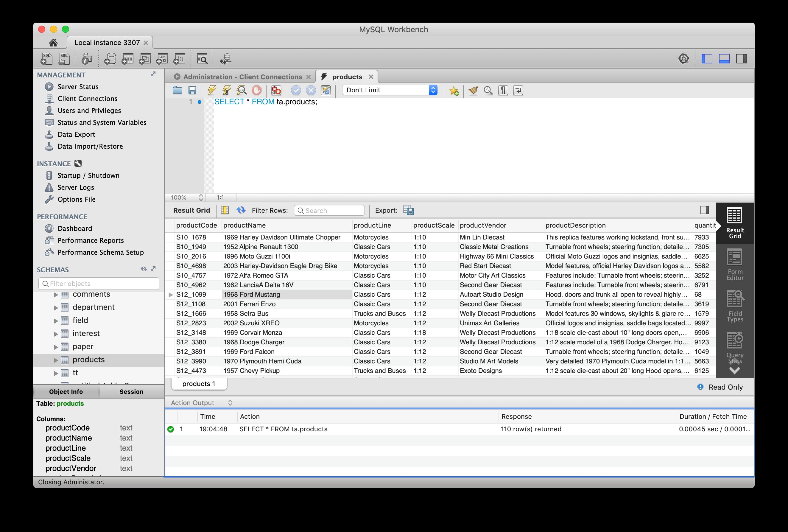 MySQL Workbench vs DataGrip vs TablePlus - Quick Comparison | TablePlus