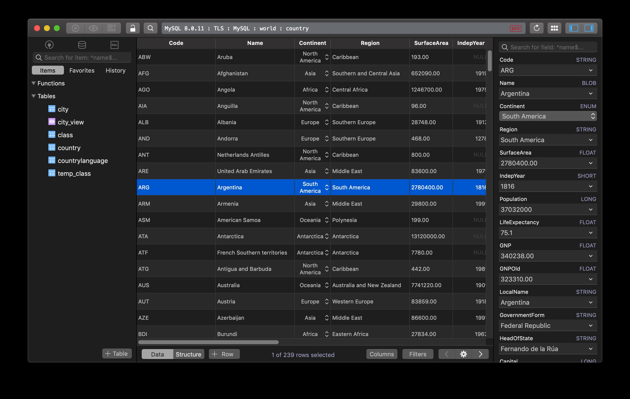 HeidiSQL for Mac - The best free equivalent   TablePlus