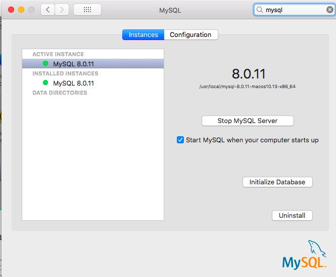 How to start, stop, and restart MySQL database server? | TablePlus