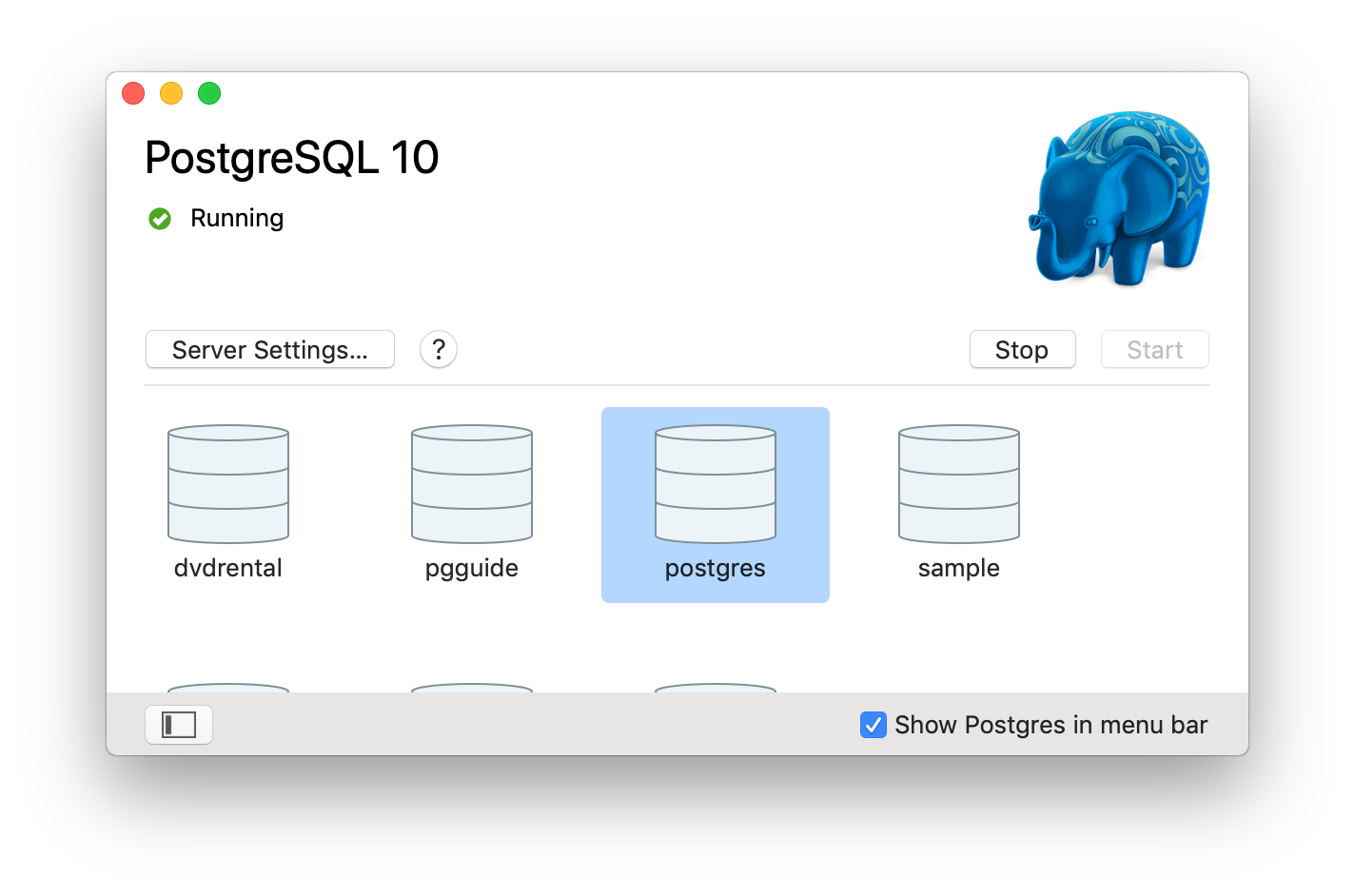 PostgreSQL - How to install sample database on Mac for