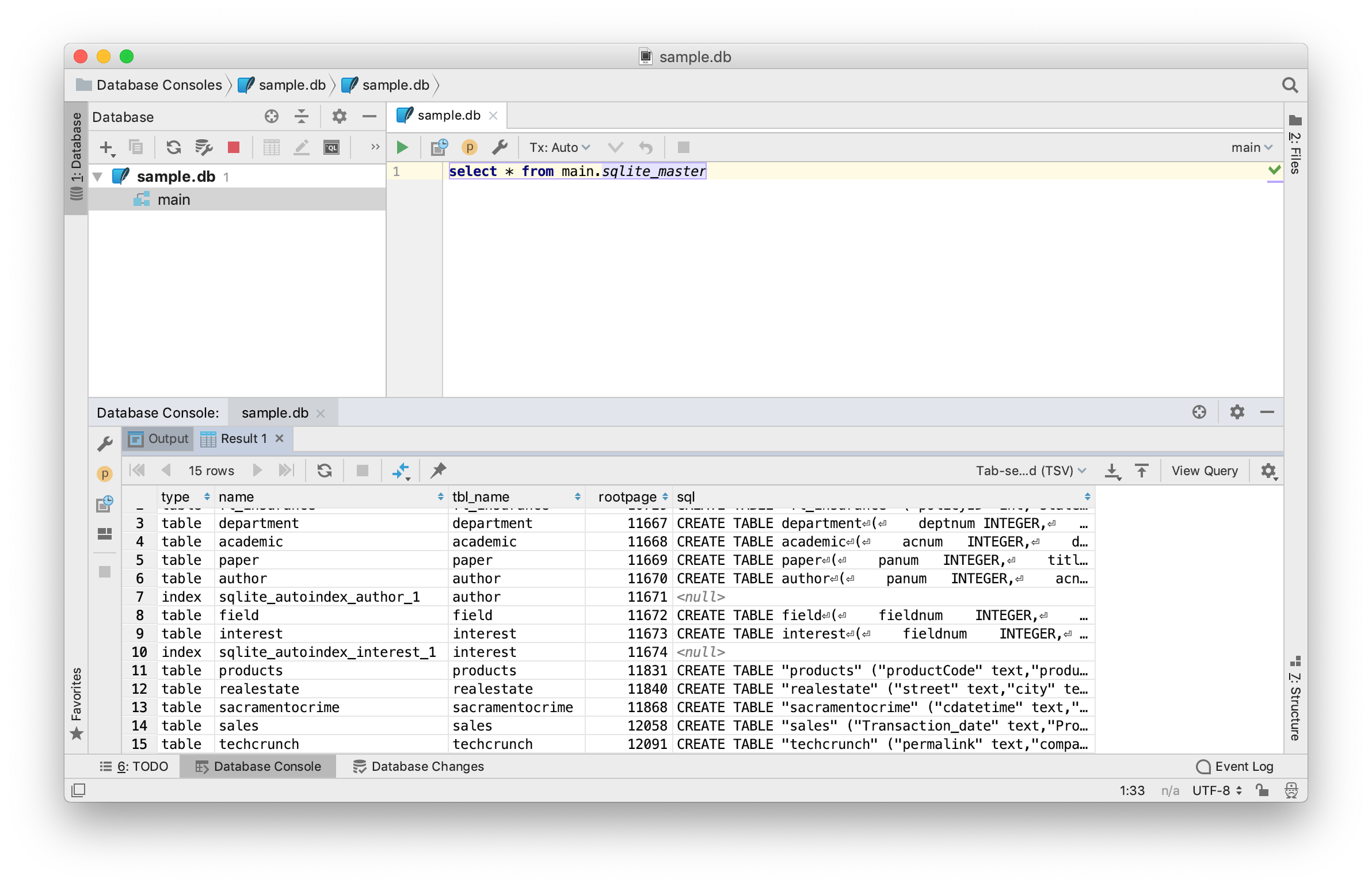 TeamSQL vs DataGrip vs TablePlus - A quick review   TablePlus